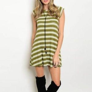 A-line Mini-Dress with Stretch
